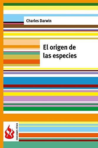 El origen de las especies: (low cost). Edici??n limitada (Ediciones F??nix) by Charles Darwin (2015-08-06) par Charles Darwin