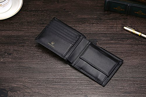 51PoKo9yeVL - Cronus & Rhea® | Luxury wallet with coin pocket made of exclusive leather (Plutus) | Wallet - Money Clip | Real leather | With elegant gift box | Men