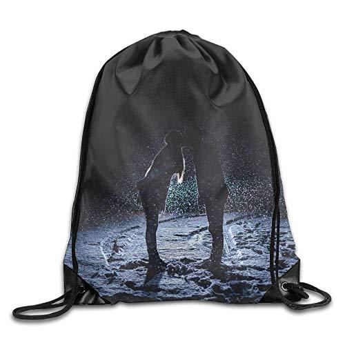 DHNKW Fantasy Butterfly Print Drawstring Backpack Rucksack Shoulder Bags Gym Bag Sport Bag Fantasy-zip Hoodie