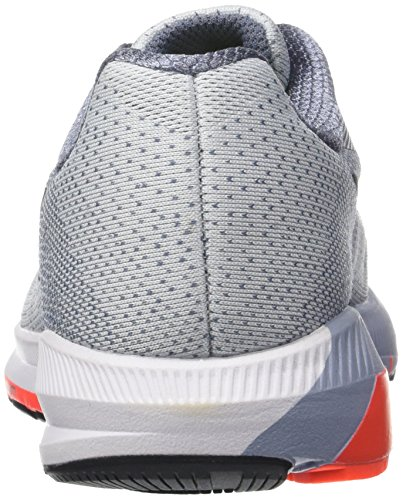 Nike Herren Air Zoom Structure 20 Laufschuhe Grau (Pure Platinum/black-light Carbon-total Crimson)