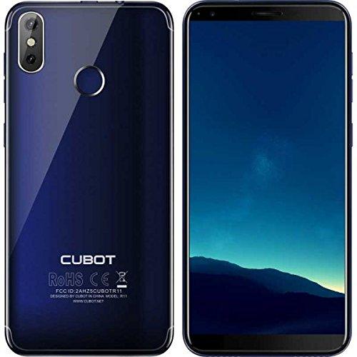 CUBOT R11 - Smartphone Dual SIM de 5.5' (Quad Core 1.3 GHz, 2 GB de RAM, 16 GB de memoria, cámaras de 8 + 2 + 13 MP,...