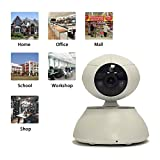 720P Full HD Wifi Pan/Tilt wireless IP Camera,IR-Cut Indoor Outdoor Day Night Vision wireless IP Camera with 2 Way Audio chatting,Push Notification,Remote Control Mobile Android/iOS/iPhone/iPad/Tablet Support 64GB Micro SD Card