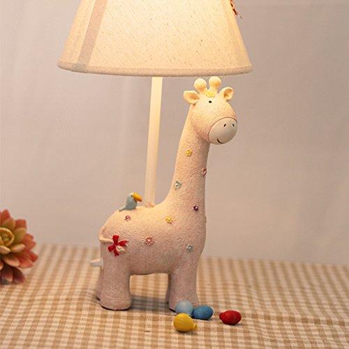 European Creative Schlafzimmer Nachttischlampe Warm Schreibtischlampe dekorative Nacht Licht Cute Giraffe Lampen Kindertischlampe ( stil : B )