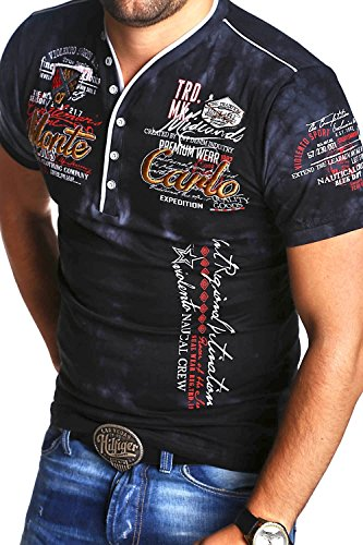 MT Styles 2in1 T-Shirt P-Extend Polo R-2892 [Schwarz, XL]