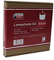 30cm Lampshade Making Kit for Pendants Or Table Lamps from needcraft.co.uk