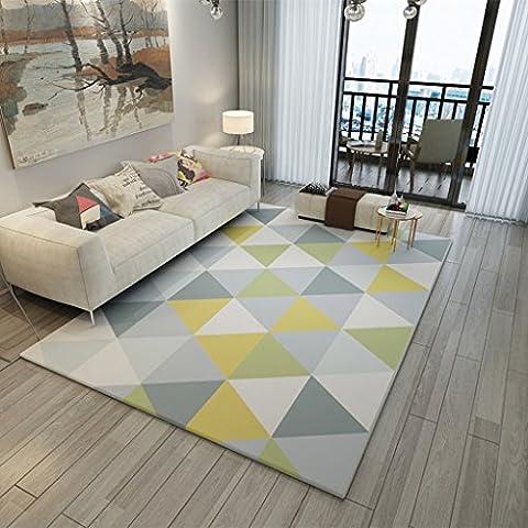 Ali Mode Nordic Wohnzimmer Sofa Kaffee Matratze Schlafzimmer Bett Voller Shop waschbarer Teppich ( Farbe : #3 , größe : 120*160cm