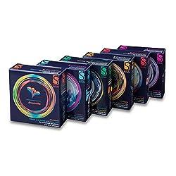 (12x 3) 36Mixed Besafe® Condones Preservativos (3por pack y sellado) + libre Auva SP20Lip Balm 2 Sexo seguro, condones y contenido erótico | Más de condones