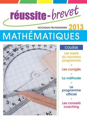 Réussite brevet 2013 Maths