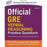 Official GRE Verbal Reasoning Practice Questions: with practice for the Analytical Writing measure