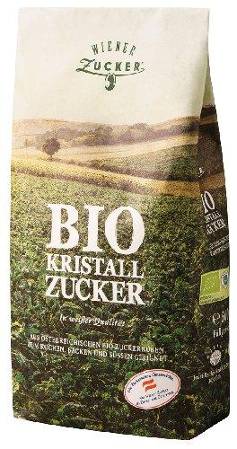5x Wiener Zucker - Bio Kristallzucker - 500g