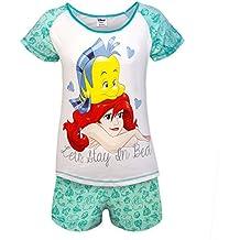 Disney Minnie Mouse Eeyore Sirenita Regalo Oficial Mujer Pijama Corto