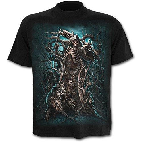 Spiral Forest Reaper T-Shirt schwarz Schwarz