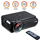 Best Proiettore 1080p Elegiant Sotto 500 - MOGOI Mini proiettore Portatile, 1080P Micro LED Video Review