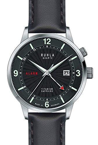 Gardé (by Ruhla) Uhr Herren Titan Armbanduhr Modell Ruhla-Alarm 34802 mit Weckfunktion