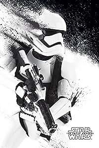 STAR WARS Episode VII - Stormtrooper peinture - 61x91,5cm AFFICHE / POSTER