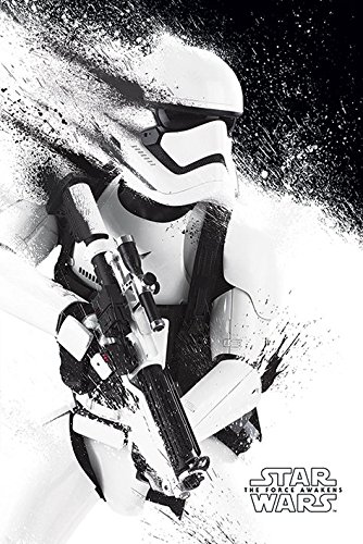 STAR WARS EPISODE VII Set von 5 Poster Stormtrooper Paint 61 x 91 cm (5)