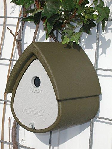 Schwegler Meisenresidenz 1MR - grün / grau (Vogel Tierbedarf)