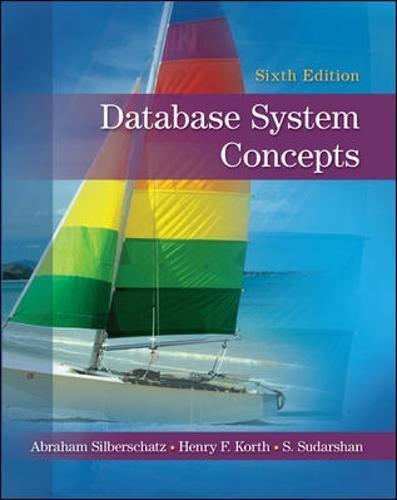 Database System Concepts por Abraham Silberschatz