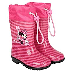 Botas Agua Minnie Mouse...