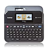 Brother P-touch D600VP Professionelles Beschriftungsgerät inklusive Farbdisplay