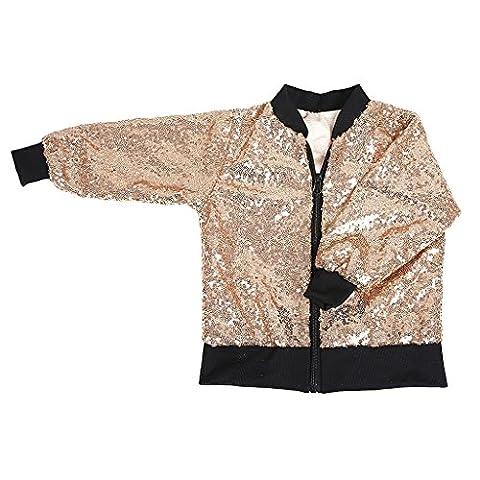 Manteau Brillant - Sharplace Manteau Sequin Brillant Bébés Enfants Filles