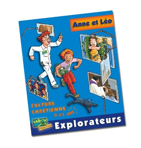 Anne et Léo explorateurs (1DVD) par Mediaclap