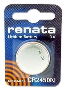 Renata CR2450N batterie au lithium, 540mAh