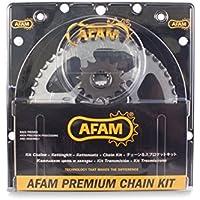 Afam Kettensatz  Stahl Kit für APRILIA SX 50 Super Motard 2012 - 2016 kettenkit
