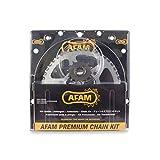 Afam 09201602 Kit chaîne de moto - kit acier pour PEUGEOT XP 6 (SM) (Enduro) 2002-2003