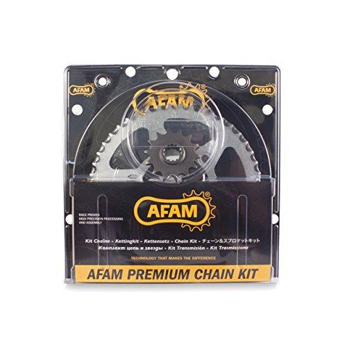 Afam 04713638 Kit cadena de moto (acero) para DERBI 125 SM Senda...