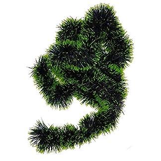 Ivenda 1Pieza Guirnalda de Abeto Verde 180cm de Largo, Guirnalda Decorativa 7–8cm de diámetro, Guirnalda Navidad