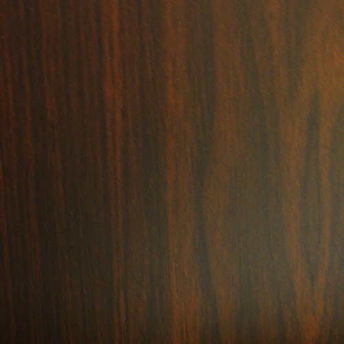 ARIZONA - CD / DVD / Blu-ray / Media Glass Storage Shelves - Dark Oak