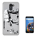 c00070 - Banksy Graffiti Art Star Wars Robot Design Wileyfox Swift 2 / 2 Plus Fashion Trend Case Gel Rubber Silicone All Edges Protection Case Cover