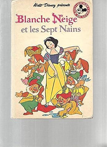 Livre Disney Club Du Livre - Blanche Neige et Les Sept