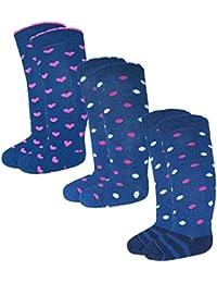 EveryHead gigante 3 o 6 Pack Chica de calcetines pack de ahorro Marca Medias hasta la
