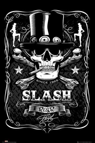 Slash - Poster - Label + UE di poster