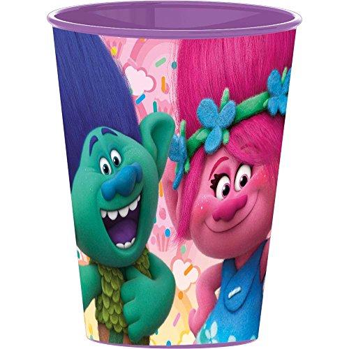 Boyz Toys Trolls Plastique, verre, Violet,