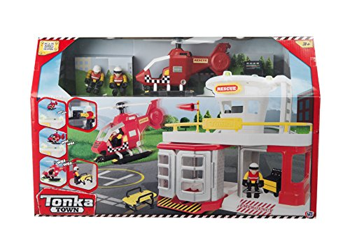 tonka-town-air-rescue-station-play-set