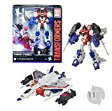 TRANSFORMERS Generation - Robot Voyager Starscream avion 20cm - Jouet transformable 2 en 1