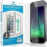 Power Theory Verre Trempé iPhone SE/5s/5 - Protection Ecran Anti-Rayure, Film sans...