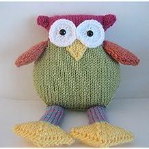 Owl Knit Pattern (English Edition)