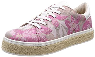 s.Oliver 23654, Sneakers Basses Femme, Argent (Silver Multi), 41 EU