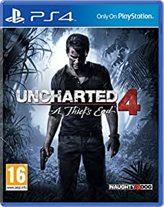 Uncharted 4: A Thief's End [import europe]