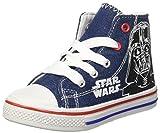Star Wars Jungen Canvas Hi High-Top, Blu (Dk. Denim), 31 EU