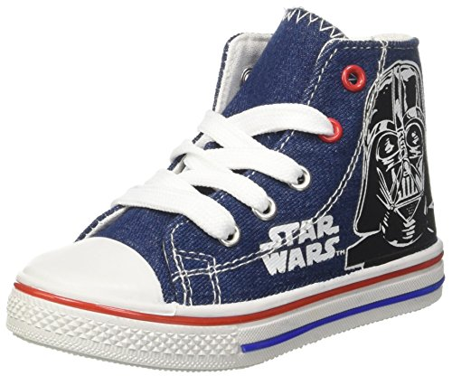 Star Wars Canvas Hi, baskets montantes garçon Blu (Dk. Denim)