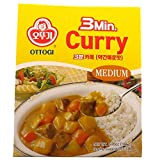 3 Min Curry Bouillon Mild Cook with Boiling Water or Microwaveable, 6.7-oz. Packages, 6-Count (Medium) by Ottogi