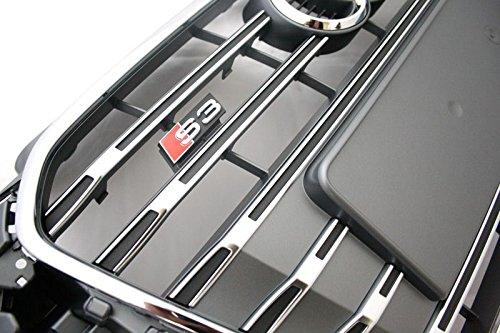 Griglia radiatore S3originale Audi A38V S-Line Tuning barbecue grigio platino cromo