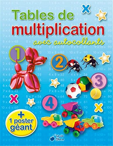 Tables de Multiplication avec Autocollants