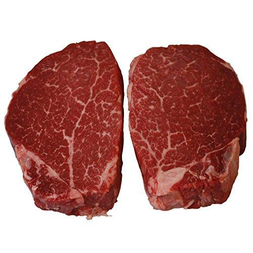 Wagyu Rindfleisch Filet Steaks, BMS 6-8, 2 x 175g