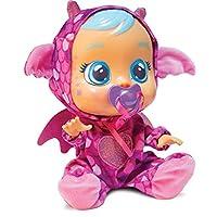 IMC Toys 99197IM Cry Babies Bruny The Dragon, Purple